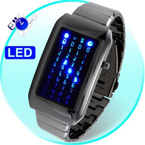 The Warp Core - Japanese Style Blue LED Watch  [TKE-CVIZ-G88]