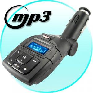 2GB Plug-In Car MP3 Player (with FM Transmitter)  [TKE-CVHI-C18]