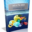 Introducing… Health And Fitness 101