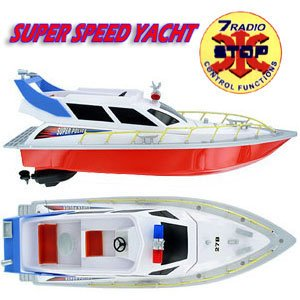 HT SUPER SPEED REMOTE CONTROL POLICE YACHT