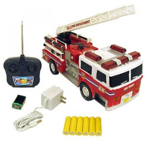 OK EXPRESS RADIO CONTROLLED FIRE TRUCK REMOTE CONTROL