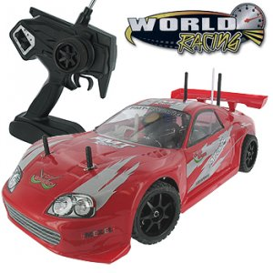 WORLD RACING 1/10TH SCALE REMOTE CONTROL SUPRA CAR