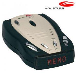 WHISTLER RADAR/LASER DETECTOR WITH DIGITAL COMPASS