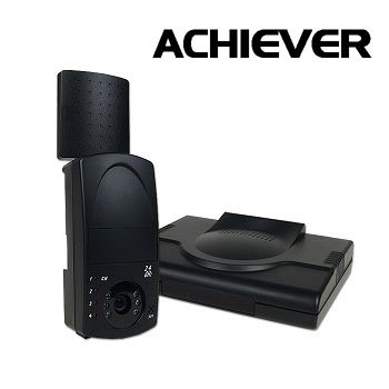 ACHIEVER 2.4 GH WIRELESS CAMERA & RECEIVER SURVEILLANCE