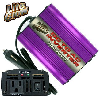 LITEGLOW 150W POWER INVERTER **NO RESERVE**