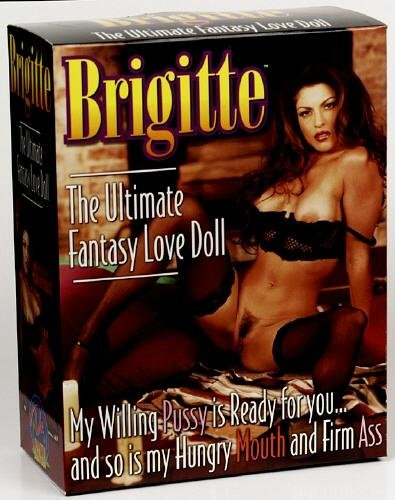 Brigitte Love Doll - Brown Hair