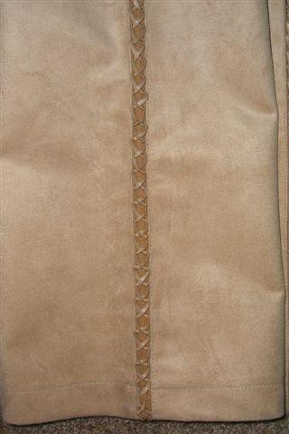 NEW VERTIGO PARIS SUADE PANTS JEANS SLACKS 6 M 38 $170