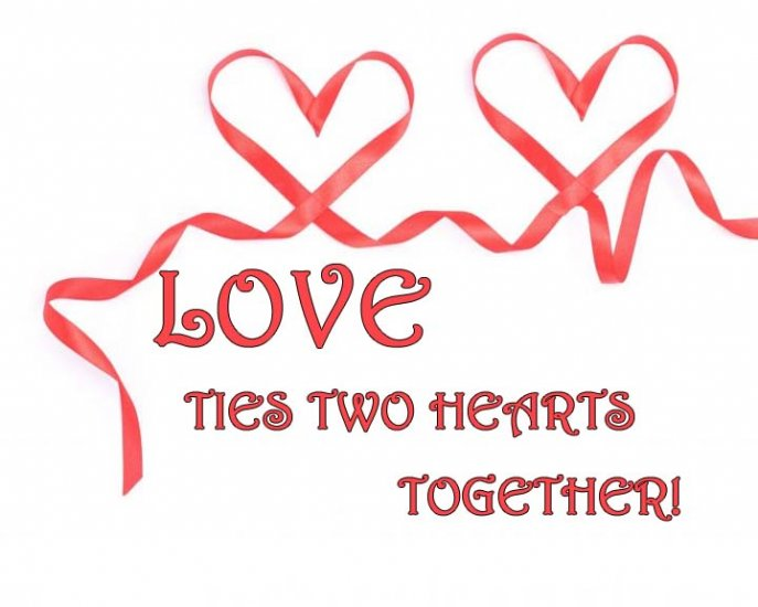Two Hearts Tied Together