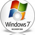 Window 7, 32 Bit System Recovery Software Disc Professional
