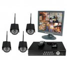 4 Channel Wireless DVR Complete System