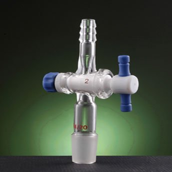 Adapter,vacuum with PTFE stopcock ,24/40 joint