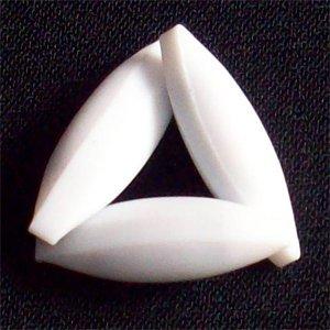 PTFE Magnetic stirr bar 2cmX1cm,100-250ml,lot of 3,EGG