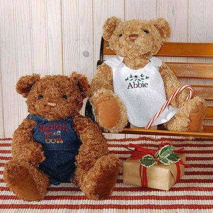 "Personalized Teddy Bear 16"" Tall  Baby/Newborn Gift"