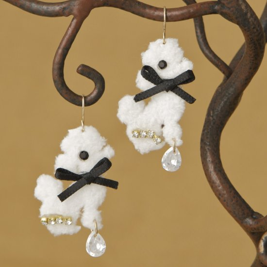 Poodle Fashion Earrings