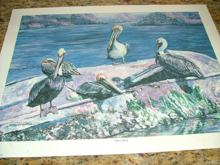 """The Crew"" by Gordon Wheeler Signed Print 68/950"