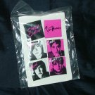 "The Von Bondies Alternative Rock Band ""Pawn Shoppe Heart"" Button Pins on Card, Mint, Set of 6 Square"