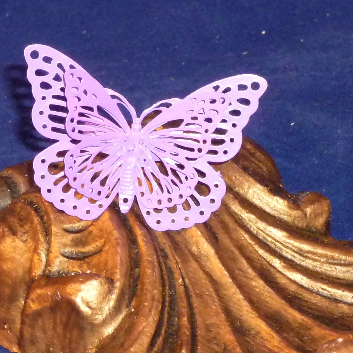 Whimsical Enchanted Butterfly Ring - Pink