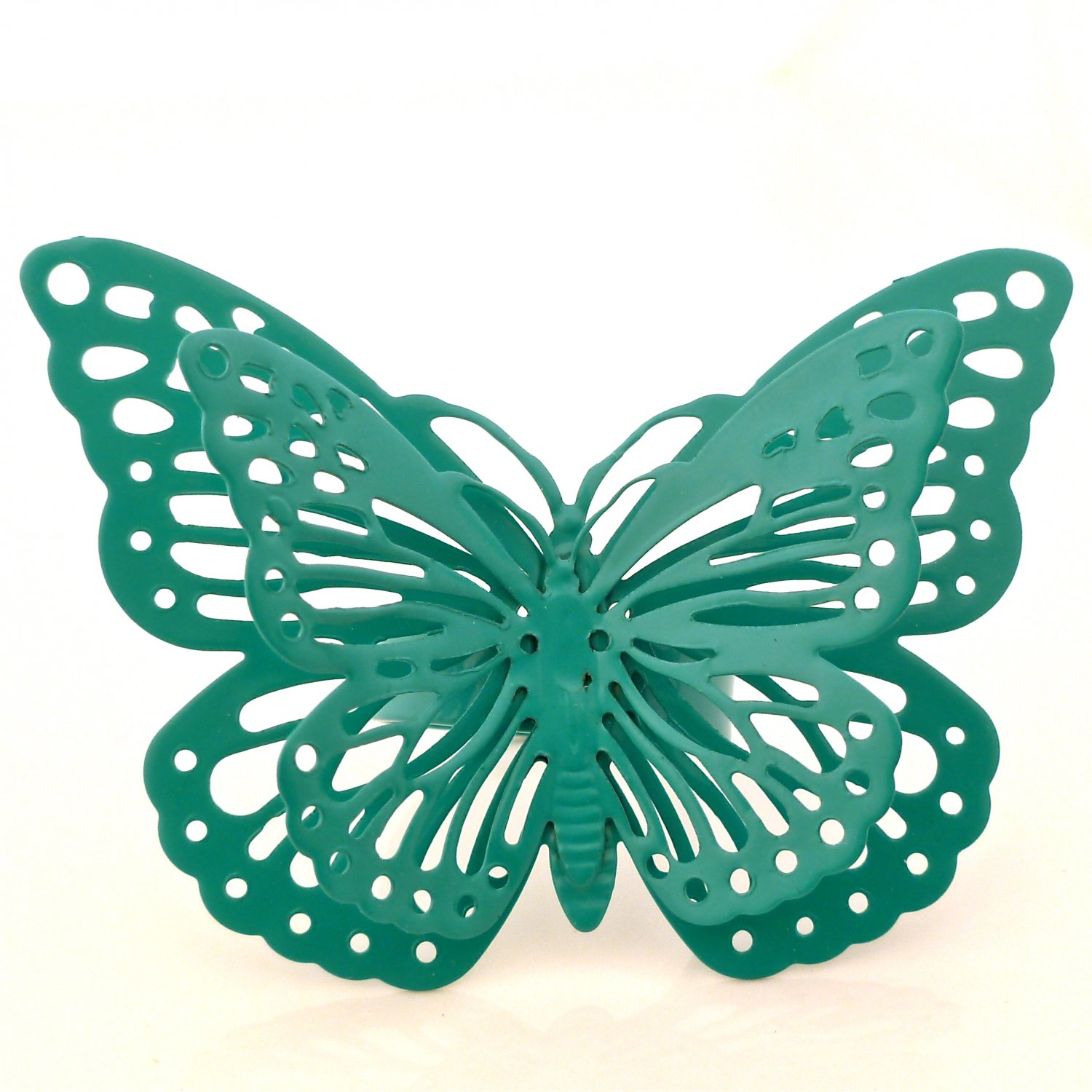 Whimsical Enchanted Butterfly Ring - Jade