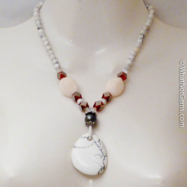 Agate Bohemian Style Gemstone Necklace