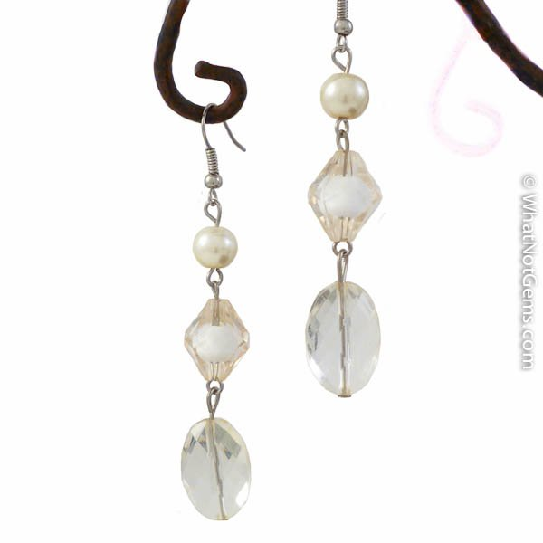 Champagne Dreams Dangle Earrings