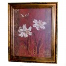 Framed Lily Design by Judy Mastrangelo