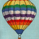 Balloon in Flight Completed Needlepoint