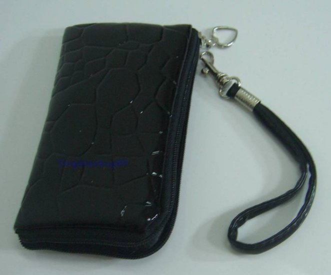 Black Cell Phone Purse Bag w/ Strap