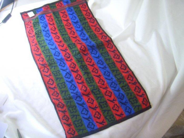Colorful Strip Thick Bath Face Clothwash Towel