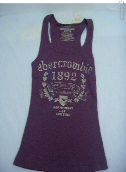 Sportive Slim Vest For Girl Dark Purple