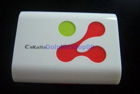 White Red Dot Contact Lens Case Travel Box Case Set