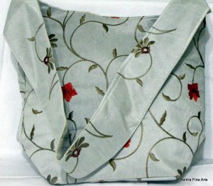 Bohemian Style Gypsy Boho Hand Bag with Embroidery