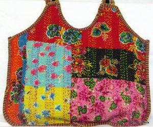 Bohemian Style Gypsy Boho Handbag with Patch Work