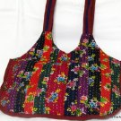 Bohemian Style Gypsy Boho Handbag with Patch Work
