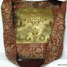 Bohemian Style Indian Jacquard Silk Hand Bag