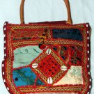 Bohemian Style Multi Color Gypsy Purse/Handbag with Embroidery and Mirrorwork