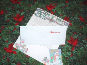 Personalized Christmas Letter from Frosty
