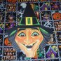 Halloween American Witch Face Die Cut Party Decorations