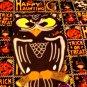 Halloween Black Owl Die Cut Party Decorations