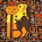 Halloween Black Cat Moonface Die Cut Party Decorations