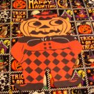 Halloween Pumpkin Scarecrow Die Cut Party Decorations