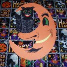 Halloween American Moonface Cat Die Cut Party Decorations