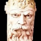 NEW GOTHIC LARGE GREENMAN FACE WALL BRACKET CORBEL