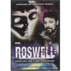 ROSWELL COVER UPS & CLOSE ENCOUNTERS DVD 1997 NEW UFO ALIEN
