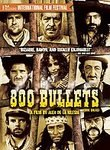 800 BULLETS 2005 DVD NEW SEALED 800 BALAS CULT WESTERN
