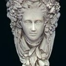 Moon Goddess Bracket Gothic Woman Face Corbel Wall Hanging Decor