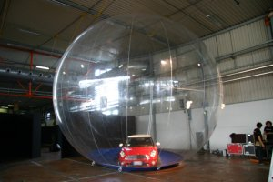 Monster Car ball 7.5m or 24.6ft in diameter