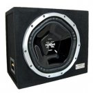 "Sony XS-LE121W 12"" Loaded Subwoofer Enclosure with 1 Shallow-Mount 1000 Watt Car Subwoofer"