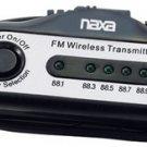 Naxa NX-3021 FM Transmitter - Black