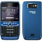 Nokia E63 GSM Quadband QWERTY Phone (Unlocked) Blue
