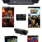 Sony PSP-3000 Core Bundle w/ 22+ Games, Camera, and 1GB Memory Stick Pro Duo